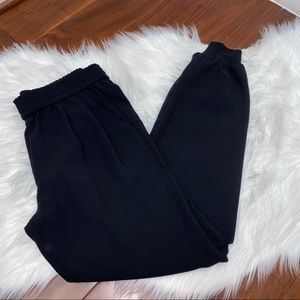 NWOT Joie Mariner Pull-On Pants Black Size XS
